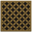 rug #119261 | square mid-brown borders rug