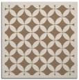 rug #119297 | square mid-brown borders rug