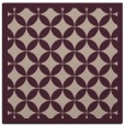 rug #119301 | square pink traditional rug