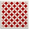 rug #119385 | square red circles rug