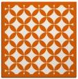 rug #119413 | square red-orange popular rug