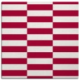 rug #1194491 | square red check rug