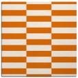 rug #1194591 | square orange graphic rug