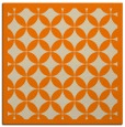 rug #119461 | square beige circles rug