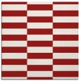 rug #1194643 | square red check rug