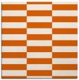 rug #1194663 | square red-orange check rug