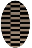 rug #1194755 | oval graphic rug