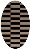 rug #1194756 | oval check rug