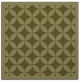 rug #119477 | square light-green circles rug