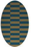 rug #1194773   oval check rug