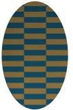 rug #1194774 | oval check rug