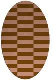 rug #1194897 | oval check rug