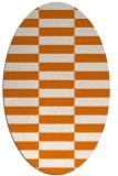 rug #1194960 | oval check rug