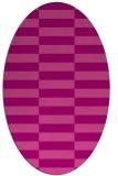 rug #1194971 | oval check rug