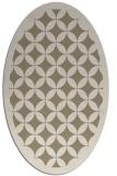 rug #119500   oval popular rug