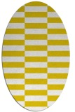 rug #1195071 | oval white graphic rug
