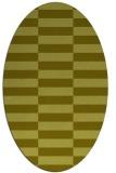 rug #1195084 | oval check rug