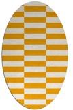 rug #1195100 | oval check rug