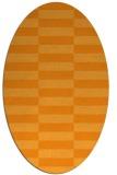 rug #1195103 | oval check rug