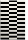 rug #1195115 |  black check rug
