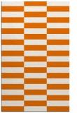 rug #1195327 |  orange check rug