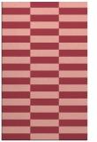 rug #1195347 |  pink check rug