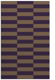 rug #1195363 |  purple check rug