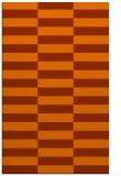 rug #1195387 |  red-orange check rug