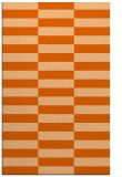 rug #1195391 |  red-orange check rug