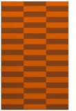 rug #1195395 |  red-orange graphic rug