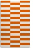 rug #1195399 |  red-orange check rug
