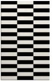 rug #1195403 |  black check rug