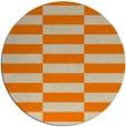 rug #1195479   round beige check rug