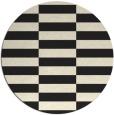 rug #1195503 | round check rug