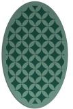 rug #119555 | oval traditional rug