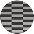 rug #1195703 | round red-orange check rug