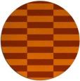 rug #1195746 | round check rug