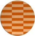rug #1195759 | round check rug
