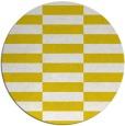 rug #1195807 | round yellow popular rug