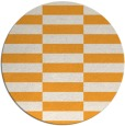 rug #1195843 | round light-orange graphic rug