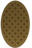 rug #119615 | oval circles rug