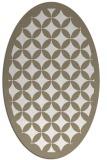 rug #119638 | oval traditional rug
