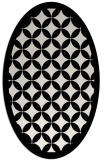 rug #119769 | oval borders rug