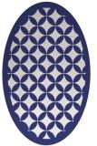 rug #119777 | oval white circles rug