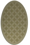 rug #119821 | oval light-green rug
