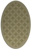 rug #119821 | oval light-green circles rug