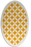 rug #119833   oval light-orange traditional rug