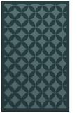 rug #119921 |  blue-green circles rug