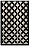 rug #119925    blue-green borders rug