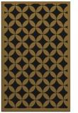 rug #119965 |  mid-brown circles rug
